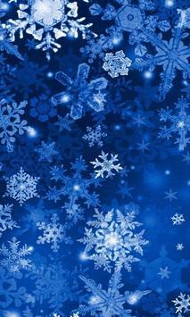 Lwp سقوط الثلج الملصق