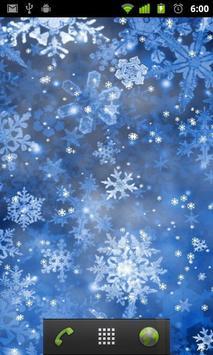 Lwp سقوط الثلج تصوير الشاشة 1