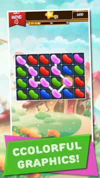 Match 3 & Puzzles: Jelly Beans Crush poster