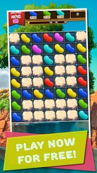 Match 3 & Puzzles: Jelly Beans Crush apk screenshot