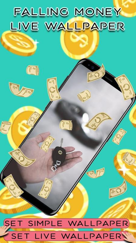 android ��� falling money live wallpaper apk �����