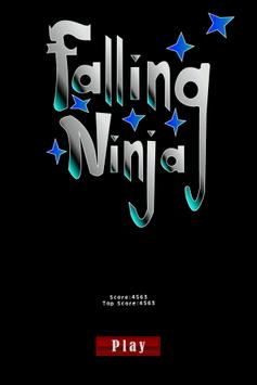 Falling Ninja apk screenshot