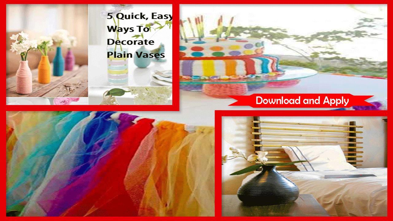 DIY Miniature Home Decoration Ideas poster