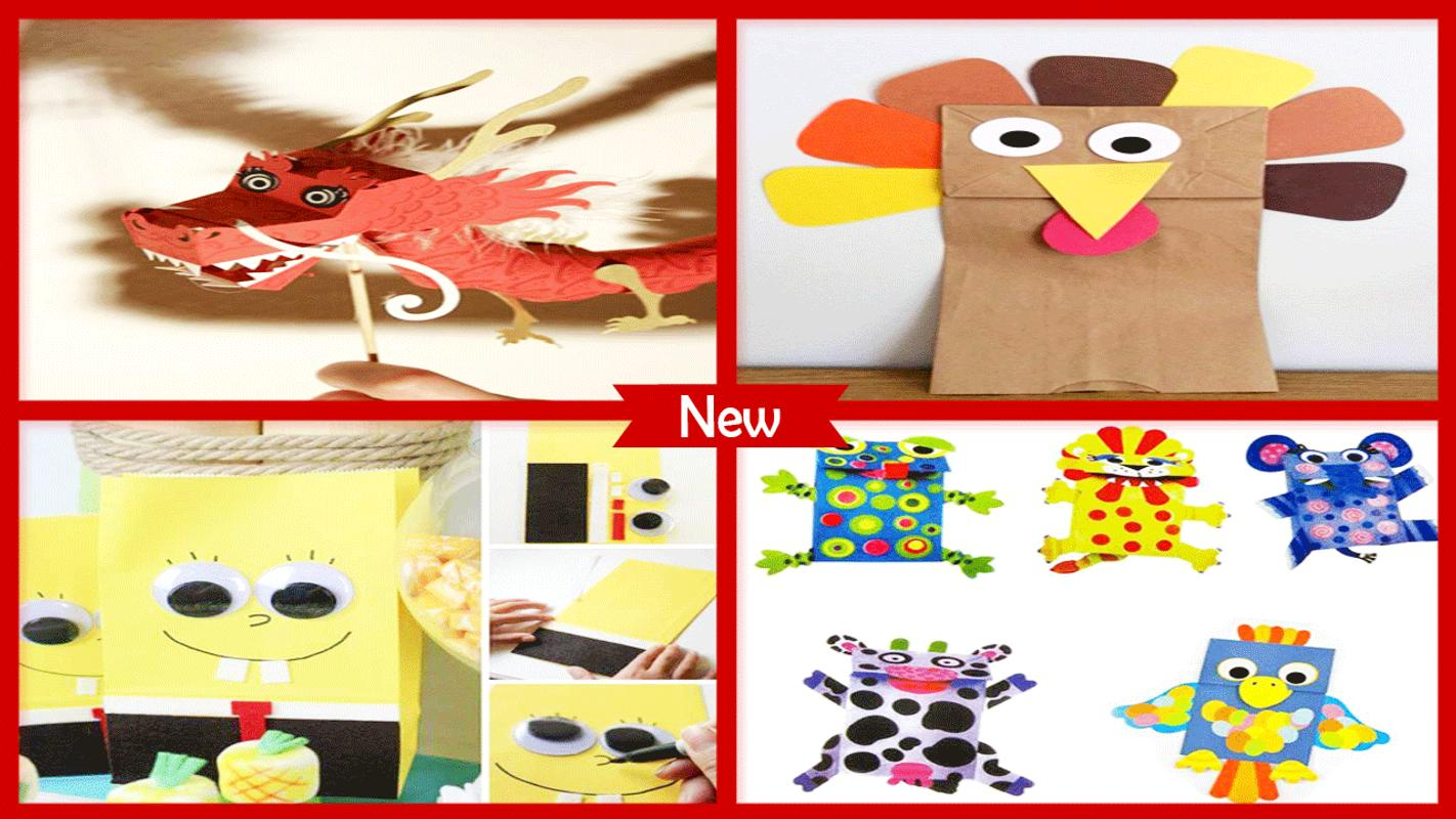 Diy Paper Bag Puppets Ideas For Android Apk Download