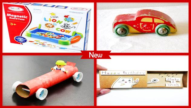 Toy Car Letter Craft Project poster