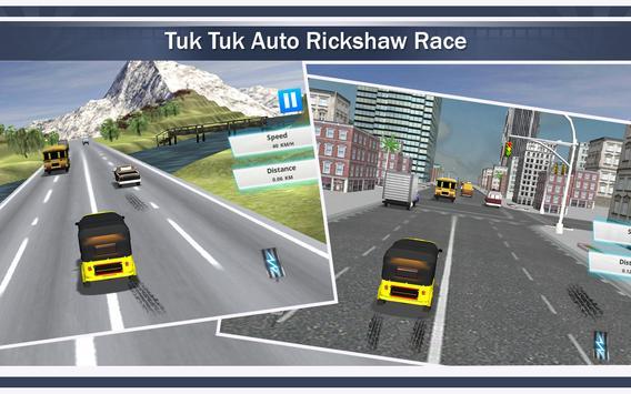 Tuk Tuk Auto Rickshaw Racing apk screenshot