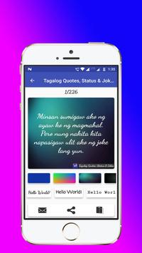 Tagalog, Hugot, Pinoy & Bisaya Love Quotes Editor poster
