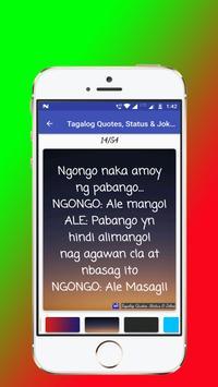 Tagalog, Hugot, Pinoy & Bisaya Love Quotes Editor screenshot 10