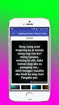 Tagalog, Hugot, Pinoy & Bisaya Love Quotes Editor screenshot 4
