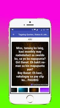 Tagalog, Hugot, Pinoy & Bisaya Love Quotes Editor screenshot 6