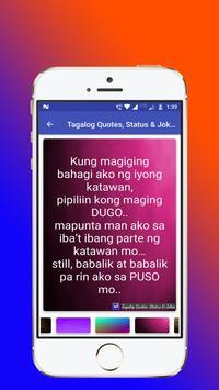 Tagalog, Hugot, Pinoy & Bisaya Love Quotes Editor screenshot 7