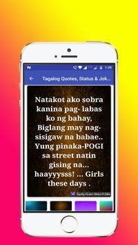 Tagalog, Hugot, Pinoy & Bisaya Love Quotes Editor screenshot 8