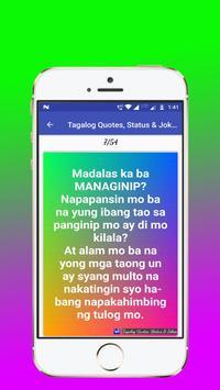 Tagalog, Hugot, Pinoy & Bisaya Love Quotes Editor screenshot 9