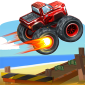 Endless Truck - Monster Truck Racing Games Free icon