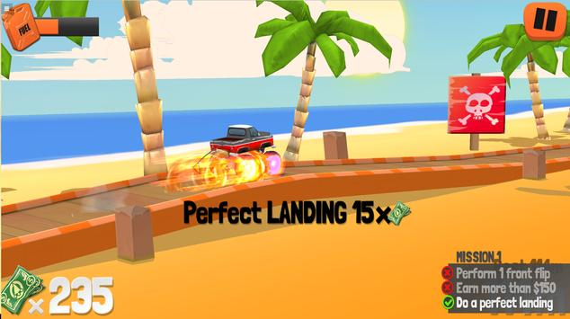 Endless Truck - Monster Truck Racing Games Free poster