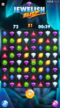 Jewelish Blitz - Match 3 Free apk screenshot