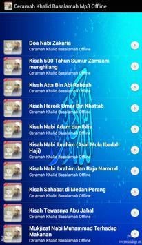 Ustadz Khalid Basalamah MP3 Offline screenshot 1