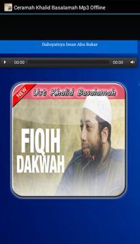 Ustadz Khalid Basalamah MP3 Offline screenshot 2