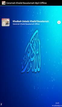 Ustadz Khalid Basalamah MP3 Offline screenshot 3