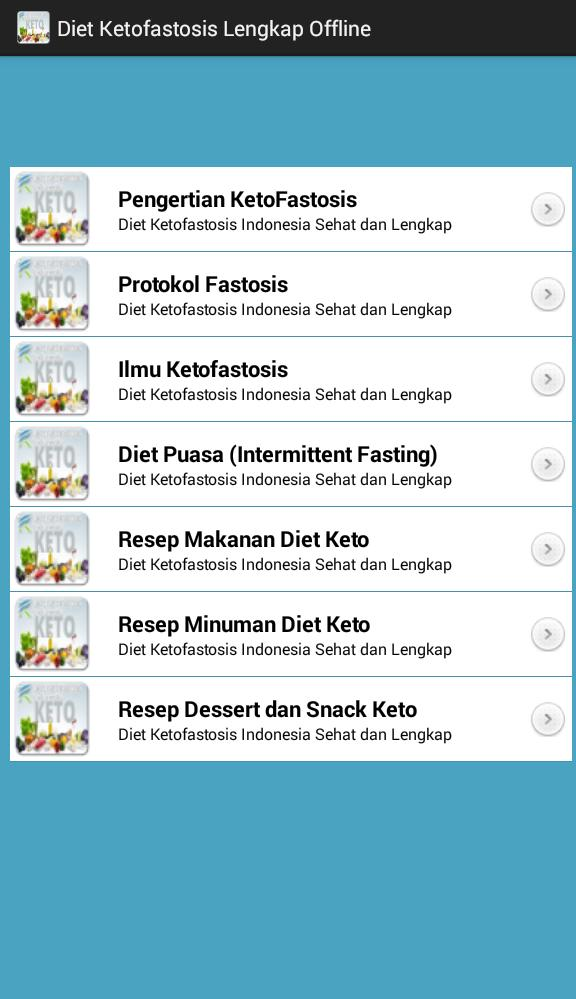 Diet Keto Fastosis Indonesia Lengkap For Android Apk Download