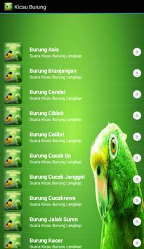 Top Kicau Master Burung Mania Mp3 Terlengkap screenshot 4