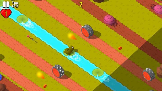 Funny Frog Jump !! apk screenshot