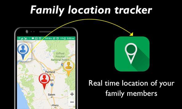 Family Location GPS Tracker poster