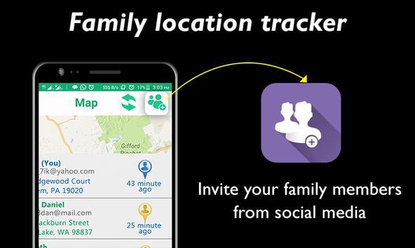 Family Location GPS Tracker screenshot 1