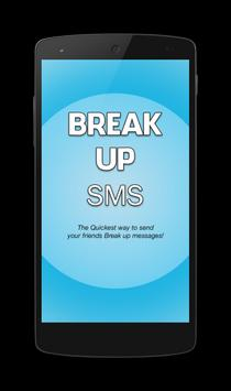Break Up Sms poster