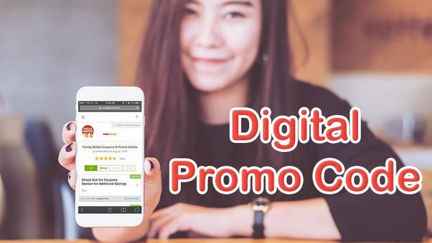 Free Dollar Smart Coupon for Digital Family screenshot 1