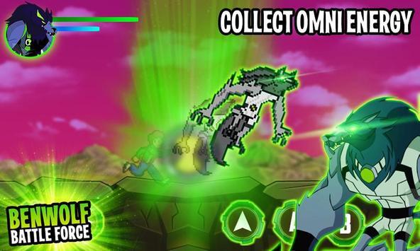 Ben Alien Benwolf: Battle Force screenshot 1