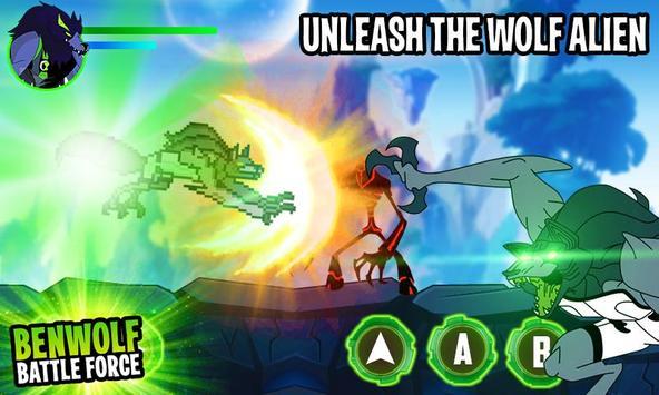 Ben Alien Benwolf: Battle Force screenshot 3