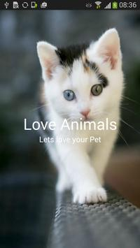 Love Animals poster