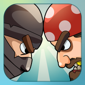 Pirates Vs Ninjas Free Games 2 player game 2p game icon