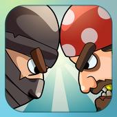 Pirates Vs Ninjas Free Games 2 player game 2p game icon