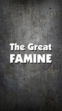 The Great Famine poster