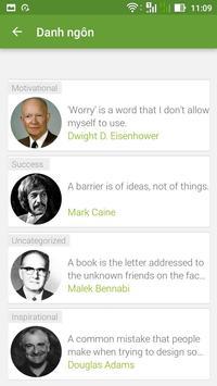 Danh ngôn cuộc sống screenshot 2