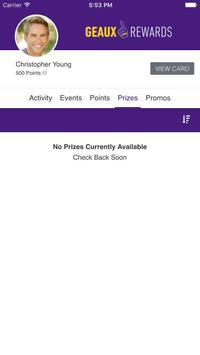 Geaux Rewards screenshot 3