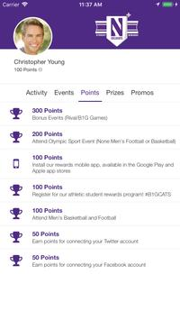 Northwestern Rewards screenshot 2