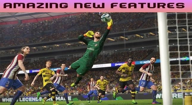 New PES 2018 : Pro Guide Soccer apk screenshot