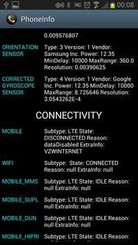 PhoneInfo screenshot 1