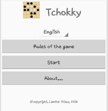 Tchokky poster