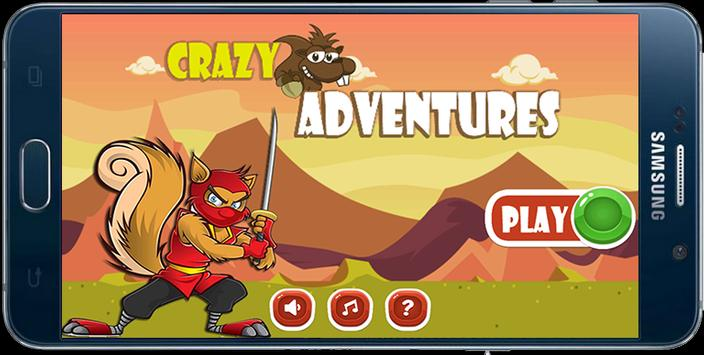 Crazy Squirrel Adventures poster
