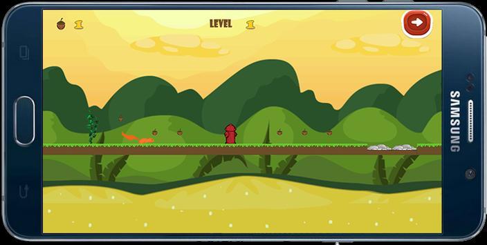 Crazy Squirrel Adventures apk screenshot