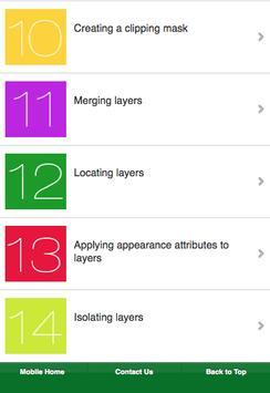 Learn Illustrator CS6 Layer screenshot 11