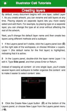 Learn Illustrator CS6 Layer screenshot 4