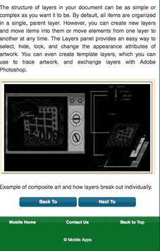 Learn Illustrator CS6 Layer screenshot 9