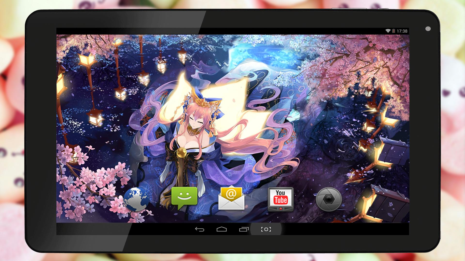 Fan Live Wallpaper Of Tamamo No Mae 玉藻の前 For Android Apk