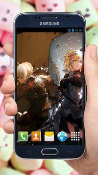 Fan Anime Live Wallpaper of Ruler Alter (ルーラー) apk screenshot