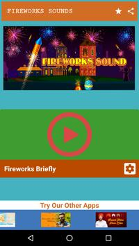 Fireworks and Firecrackers Sound poster